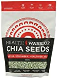 Health Warrior Premium White Chia Seeds, 16 Ounce
