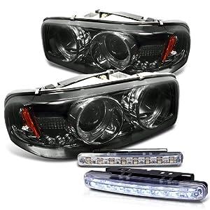 2002 2006 gmc sierra denali headlights. Black Bedroom Furniture Sets. Home Design Ideas