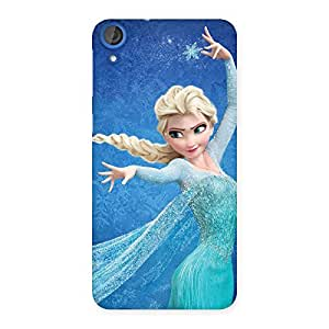 Delighted Angel And Cutness Back Case Cover for HTC Desire 820