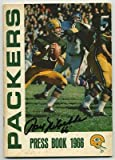 1966 Green Bay Packers Media Guide Bart Starr Packers Super Bowl Season - Autographed By Ray Nitschke at Amazon.com