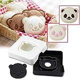 Sandwich Bread Cutter, Goldstar Cute Little Panda Shape Sandwich Bread Cake Maker Diy Mould Pocket Cutter [Safe...