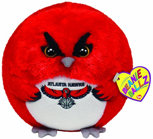 Ty Beanie Ballz Atlanta Hawks - Nba Ballz back-908814