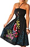 51qH9BloP5L. SL160  One size fits all Tube Dress/Coverup   Zinnia Ivy Black