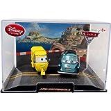 Disney / Pixar CARS 2 Movie Exclusive 148 Die Cast Car In Plastic Case Ape Professor Z