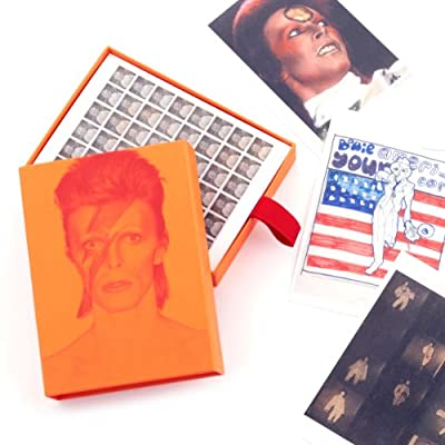 David Bowie is leaving hundreds of clues Postcard Collection||EVAEX