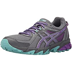 ASICS Women's Gel-Sonoma 2 Running Shoe, Taupe/Orchid/Pool Blue, 8.5 M US
