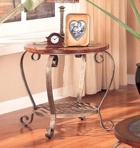 Cheap Classic Slate End Table by Coaster (B000WUWWCC)
