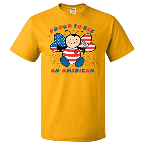 Inktastic Proud To Bee American T-Shirt