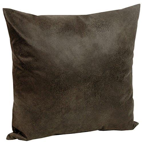 Tabago-Kissenhlle-Lederoptik-ca-50x50-cm-tuschend-echt-anschmiegsam-Farbe-600-Braun