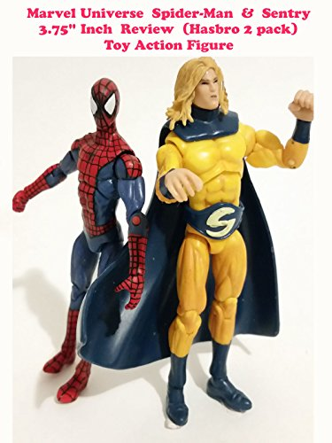 Marvel Universe 3.75 inch Spider-Man & Sentry Review (two pack hasbro)