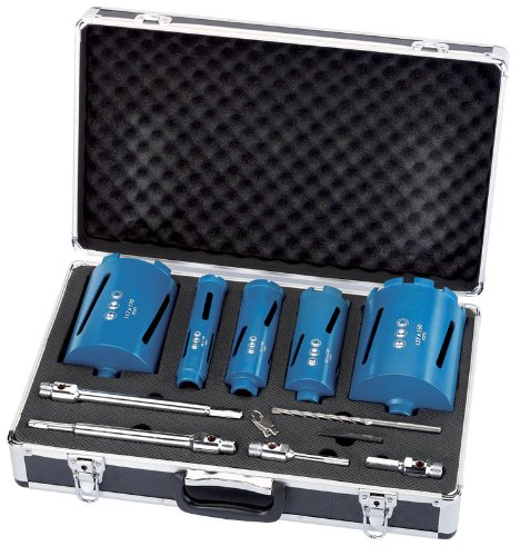 Draper 44347 11-Piece Diamond Core Bit Set