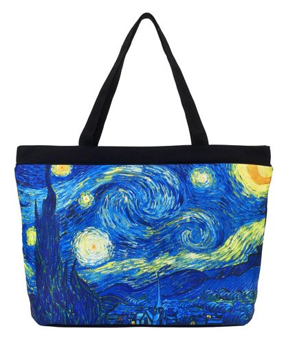 Galleria - Van Gogh Starry Night Tote Bag