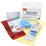 First Aid Only Bloodborne Pathogen Bodily Spill Kit, 24 Piece Kit