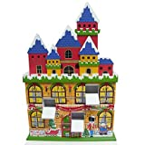 3D Magnetic 24 Door Castle Christmas Advent Calendar