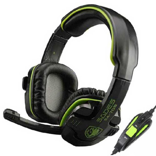 Zps Sades Stereo Headset Headband Pc Notebook Pro Gaming Headset Hidden Microphone