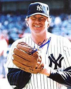 Goose Gossage Autographed  Original Signed 8x10 Color Photo Showing Him with the New... by Original Sports Autographs