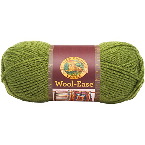 Lion Brand Yarn 620-174B Wool-Ease Yarn, Avocado