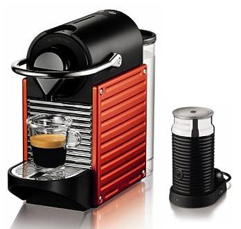Nespresso オートタイプ PIXIE(ピクシー)バンドルセット レッド C60RE-A3B