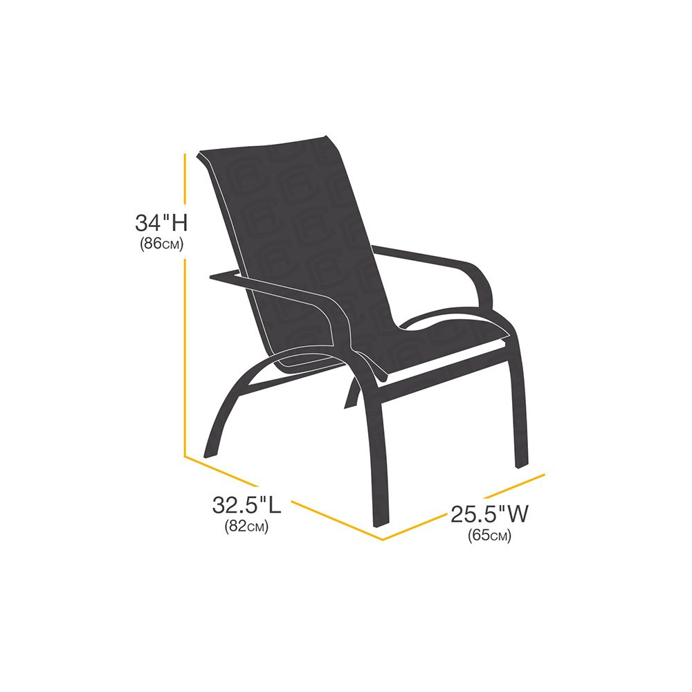 AmazonBasics High-Back Chair Patio Cover