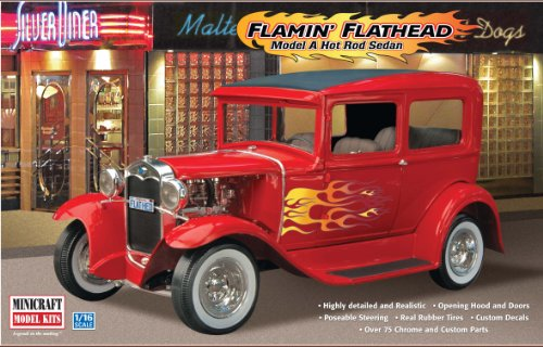 Minicraft Models Flamin' Flathead ('31 Ford) 1/16 Scale