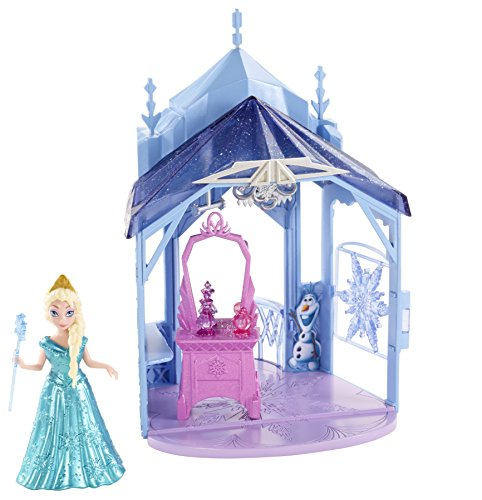 Disney Frozen MagiClip Flip 'N Switch Castle and Elsa Doll (Mattel Clip Dolls compare prices)