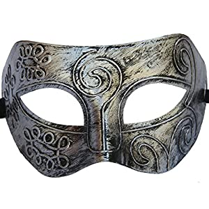 Coxeer® Roman Gladiator Halloween Party Facial Masquerade Mask
