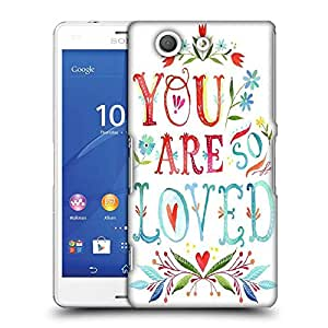 Snoogg YOU ARE SO LOVED Designer Protective Back Case Cover For SONY XPERIA Z3 COMPACT