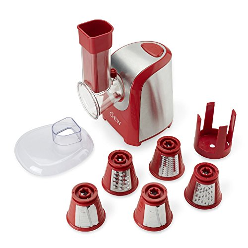 The CHEW 5-in-1 Food Prep Express Shooter, Red