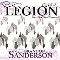 Legion (       UNABRIDGED) by Brandon Sanderson Narrated by Oliver Wyman
