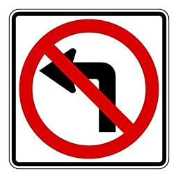 Brady 115508 Traffic Sign (Symbol), 24\