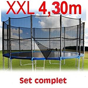 trampoline 430 cm les bons plans de micromonde. Black Bedroom Furniture Sets. Home Design Ideas