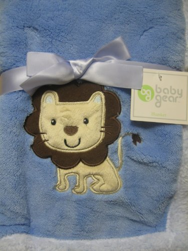 Baby Gear Plush Soft Lion Blanket - 1