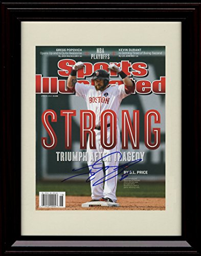framed-johnny-gomes-autograph-replica-print-boston-strong