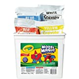 Crayola 57-4415 Model Magic Modeling Compound, 2-lb. Bucket, Asstd Colors, Four 8-oz. Pouches