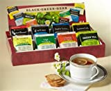 Bigelow Tea Company Products - Tea Tray Pack, 8 Assorted Teas, 64/BX - Sold as 1 BX - Tea tray pack includes eight tea bags each of Constant Comment, Earl Grey, English Teatime, Lemon Lift, Mint Medley, Orange and Spice, Cozy Chamomile and Green Tea. Tea bags are individually wrapped.