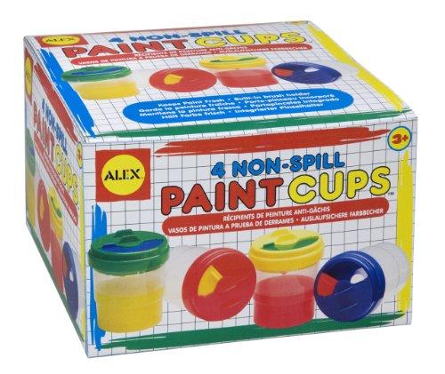 ALEX Toys Artist Studio Non-Spill Paint Cups