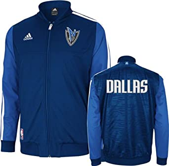 Dallas Mavericks Adidas Home Weekend 2012-2013 Authentic On-court Jacket by adidas