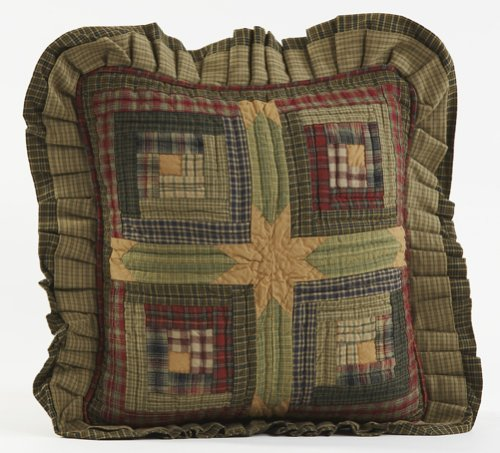 Tea Cabin Quilted Decorative Throw Pillow Sham