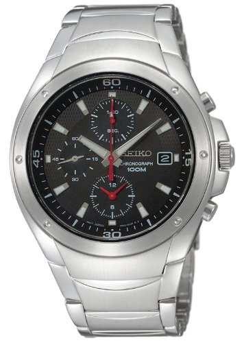 Seiko SND781P1 Gents Chronograph Stainless Steel Bracelet Watch