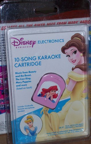 Disney Princess Electronics 10-Song Karaoke Cartridge
