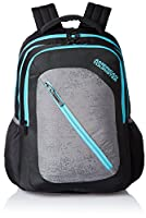 American Tourister Casper Black Casual Backpack (Casper Bacpack 08_8901836135374)