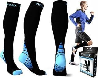 Compression Socks for Men & Women, BEST Graduated Athletic Fit