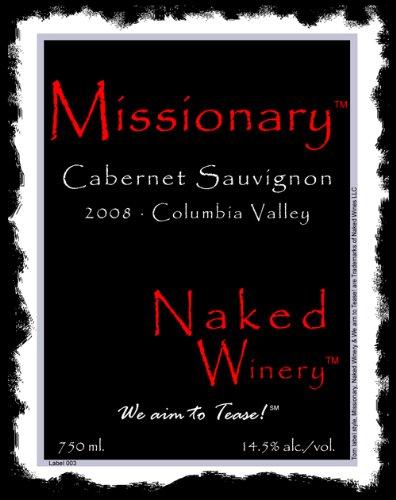 2008 Naked Winery Missionary Cabernet Sauvignon 750 Ml