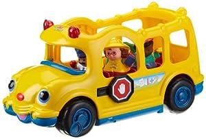 Mattel J0894 Fisher Price Little People - Autobús escolar con 3 figuras (funciona con pilas, a partir de 12 meses)