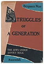 Struggles Of A Generation: The Jews Under…