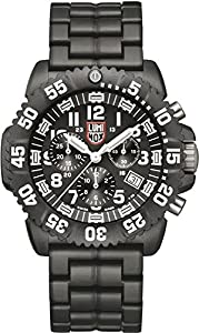 Luminox Navy Seal Chronograph Cronógrafo para hombres Aguja de tritio