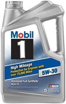Mobil 1 High Mileage 5W-30 Motor Oil