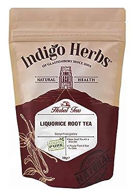 Liquorice Cut Root Loose Herbal Tea - 100g (Quality Assured) by Indigo Herbs