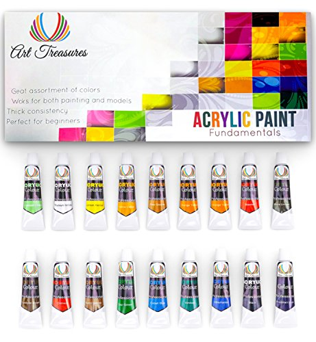 Painting Kit For Canvas, Paper, Wood