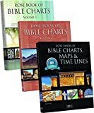 img - for Rose Book of Charts, Maps & Time Lines, Volumes 1, 2, and 3 Bundle book / textbook / text book